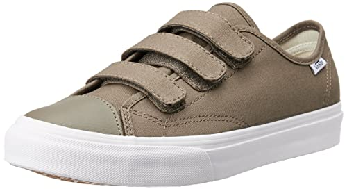 2d4f4983fb8dbf Vans Unisex Prison Issue (Canvas) Walnut and True White Sneakers - 10 UK