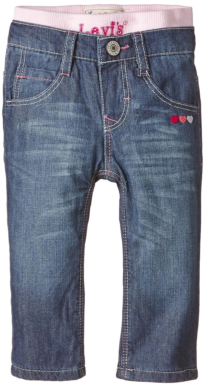 Levi's Baby Girls Manoela Jeans Blue (Indigo 46) Groupe Zannier International NG22514 NG22514_46-9M