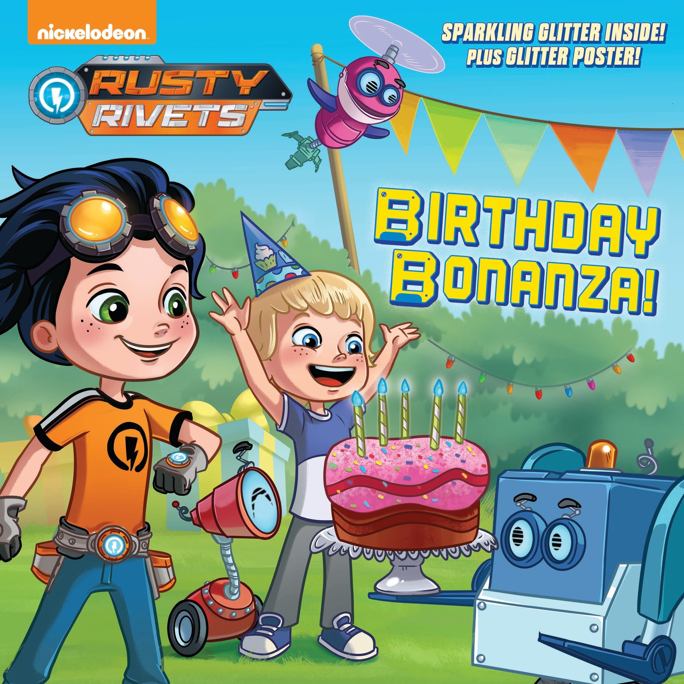 Read Online Birthday Bonanza! (Rusty Rivets) (Pictureback(R)) PDF