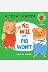 Richard Scarry's Pig Will and Pig Won't (Pictureback(R)) Kindle Edition