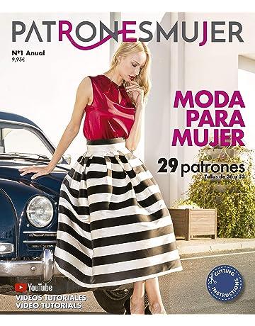 Revista PATRONESMUJER nº1. 29 patrones de ropa para mujer. Tallas de la 36 a