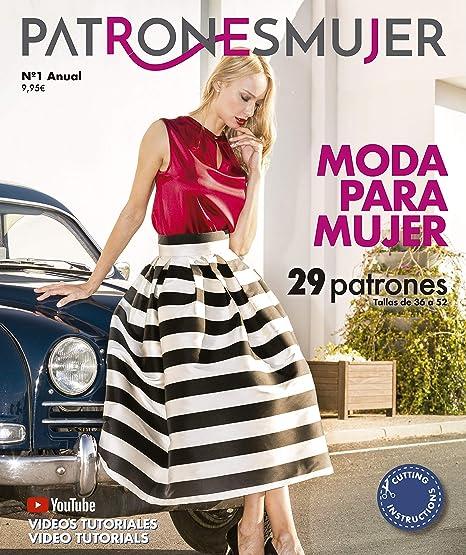 Revista PATRONESMUJER nº1. 29 patrones de ropa para mujer. Tallas ...