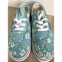 cd8a271cbe Vans Vincent Van Gogh Blossoming Almond Tree Vans Authentic Custom Shoes  Vans Authentic Custom Hand Painted