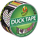 Duck Brand 283259 Printed Duct Tape, Mash Up, 1.88 Inches x 10 Yards, Single Roll