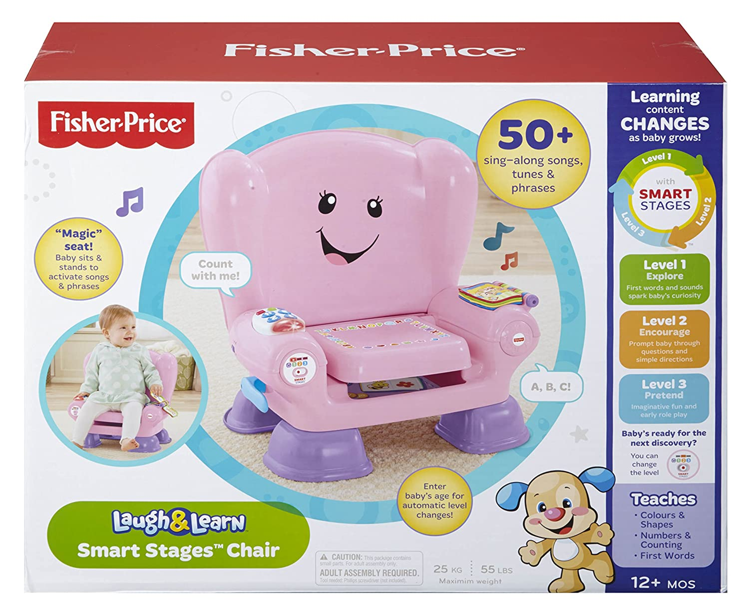 Fisher price smart stages chair - Fisher Price Smart Stages Chair 5