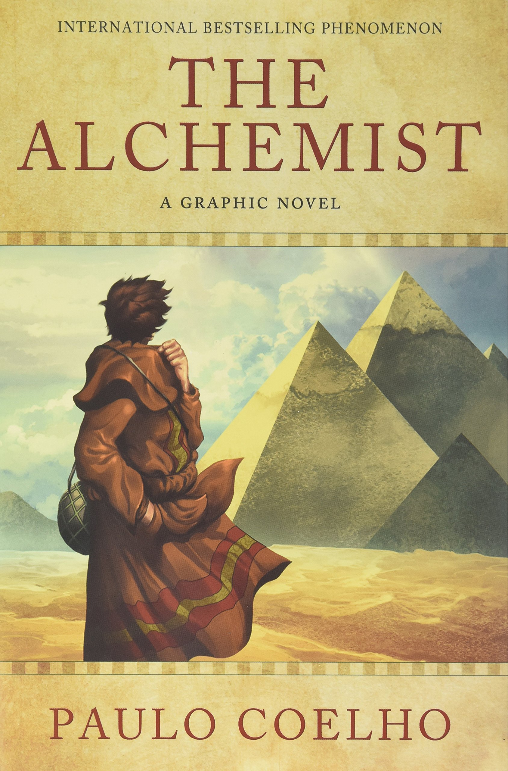 book review on alchemist best ideas about paulo coelho books the  the alchemist a graphic novel an illustrated interpretation of the alchemist a graphic novel an illustrated