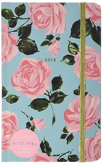 ban.do Design 17 Month Agenda 2017-18 Academic Calender, Rose Parade, 5.125