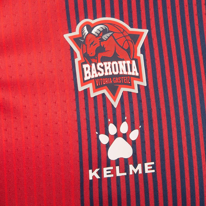 Unisex Adulto Baskonia Equipaci/ón 1/ª Camiseta Prepartido Shooting 20//21