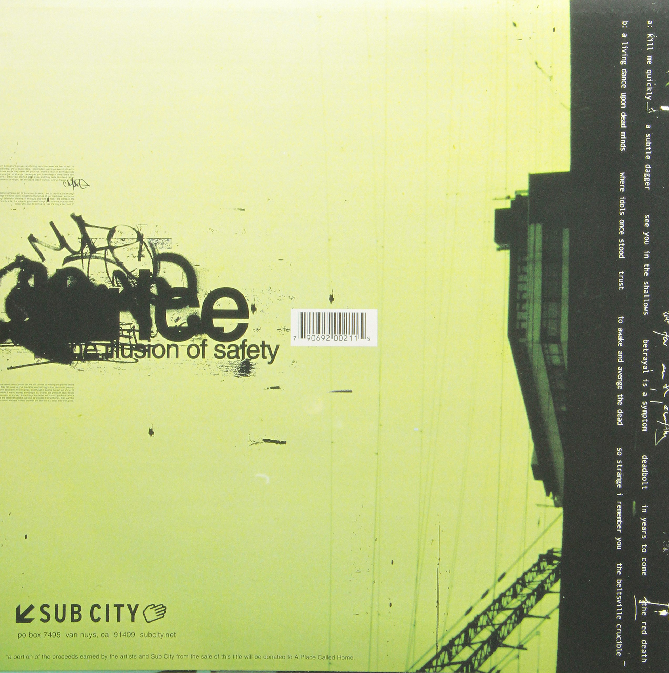 ILLUSION OF SAFETY, THE [Vinyl] by Sub City Record (Image #1)