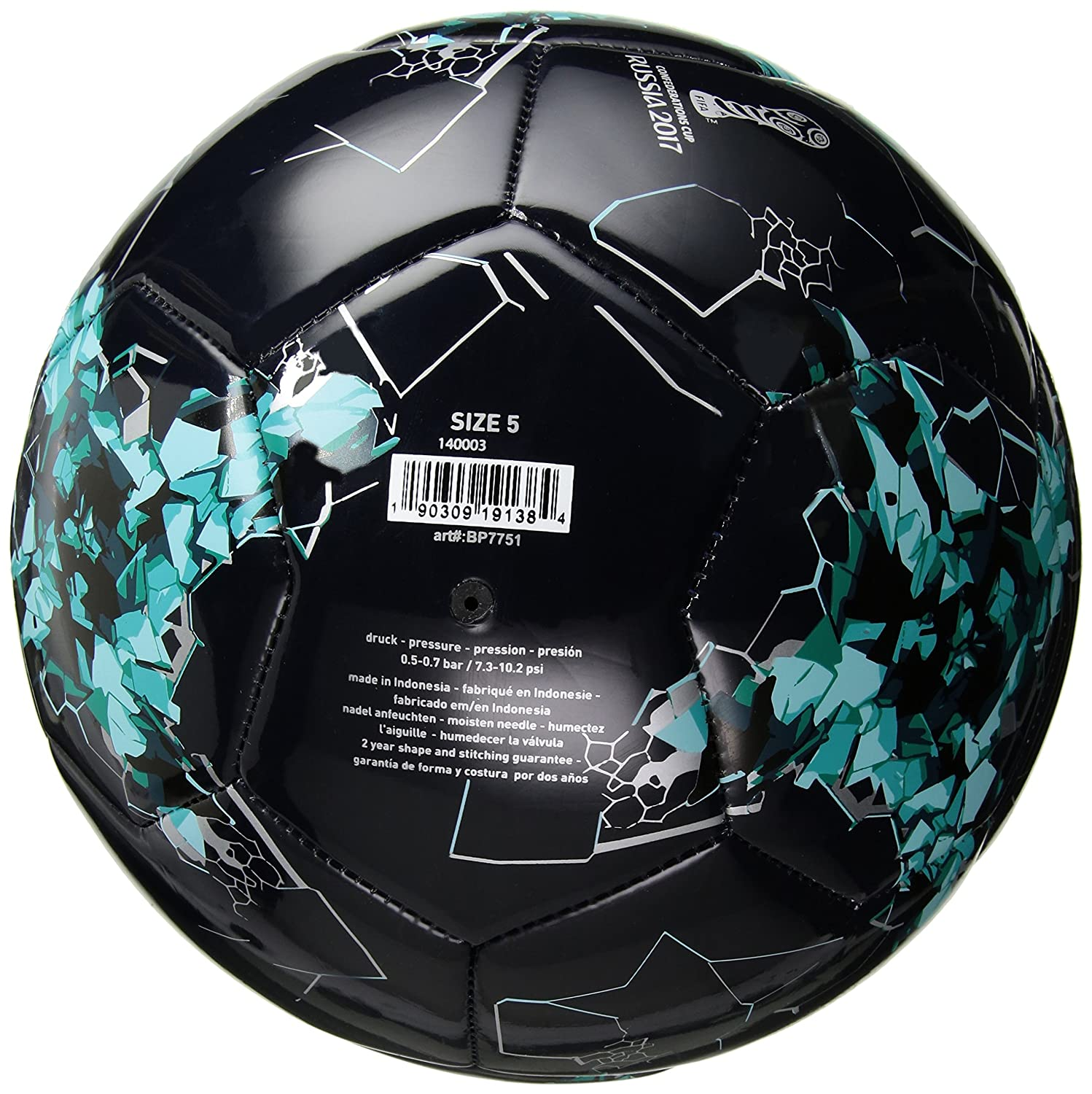 Amazon.com : adidas Performance Confederations Cup Glider Soccer Ball : Sports & Outdoors