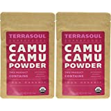 Terrasoul Superfoods Raw Camu Camu Powder (Organic), 7-ounce