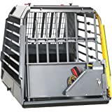 4x4 North America MIM Safe VarioCage Single - Crash Tested Dog Transport Kennel, Adjustable