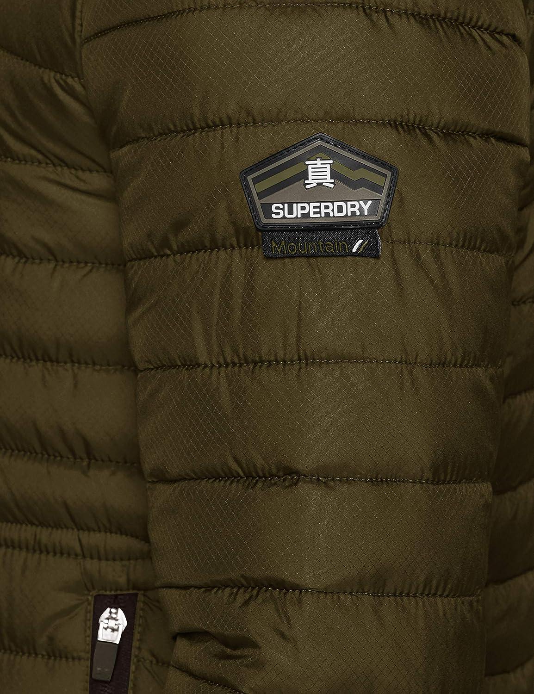 Superdry Double Zip Fuji Blouson Homme Vert (Olive 18e)