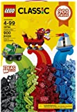 LEGO Classic  Creative Building Blocks for Kids ,Multi Color (900 pcs) 10704