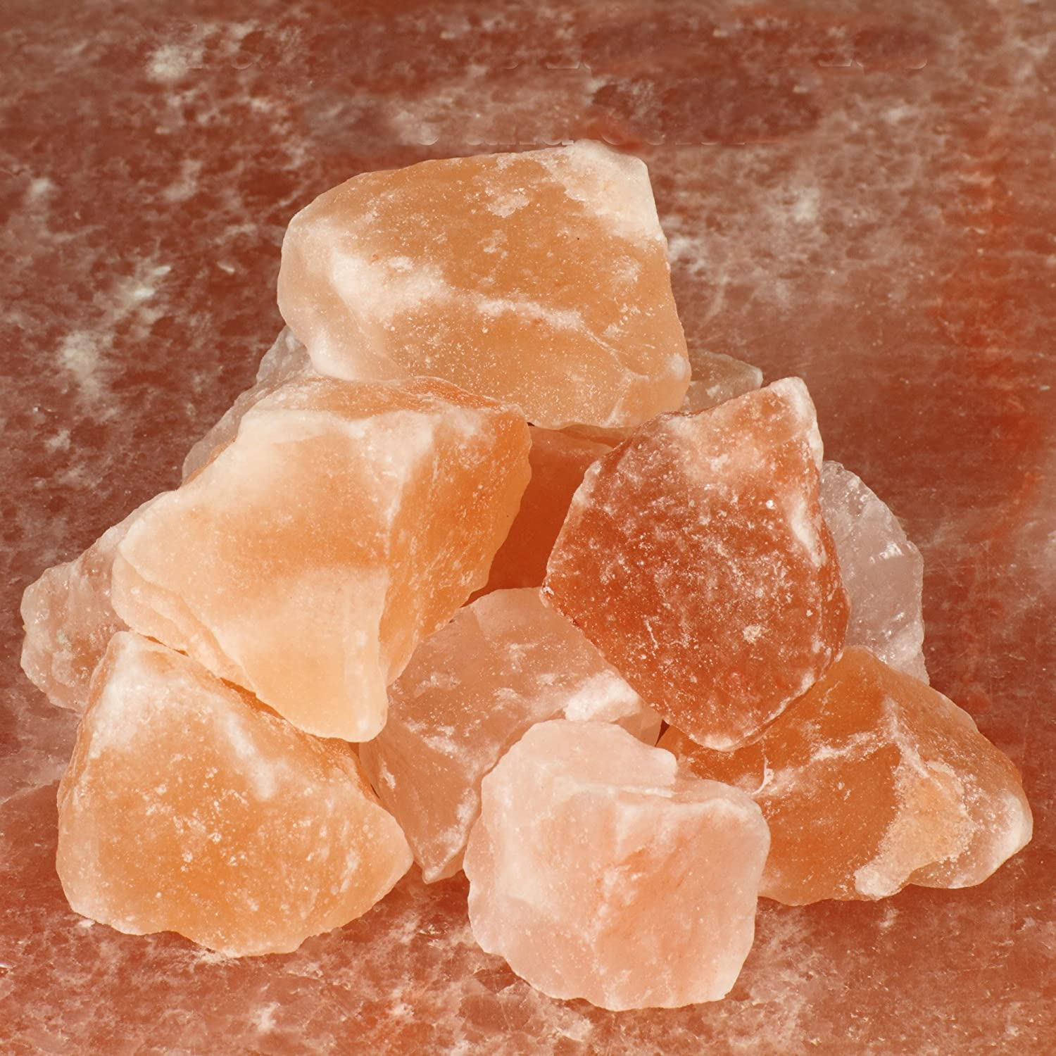 "The Spice Lab Pink Himalayan Salt Stones- Gourmet Pure Crystal - Nutrient and Mineral Dense for Health - Kosher and Natural Certified - 1-2"" Chunks - 2 Pounds : Rock Salt : Grocery & Gourmet Food"