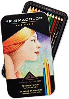 Prismacolor 3596T Premier 12 Colored Pencils