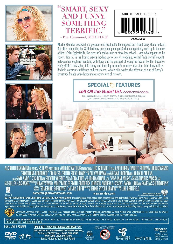 Amazon.com: Something Borrowed: Kate Hudson, John Krasinski, Luke ...