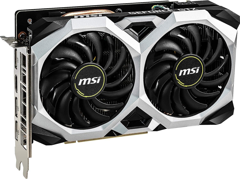 MSI GeForce GTX 1660 Ventus XS 6g OC - Tarjeta gráfica Enthusiast.: Msi: Amazon.es: Informática