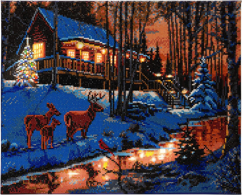 Craft BuddyUS CAMK40 Merry Christmas Crystal Art Sticker Motif Kit