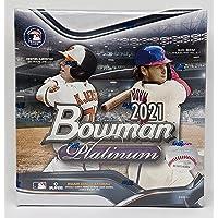 $149 » 2021 Bowman Platinum MLB Baseball Card Mega Box 2 Autographs Per Box (100 Cards Total)