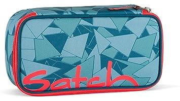 d345063b725af Satch SLEEK Petrol Triangle 2er Set Schulrucksack + Schlamperbox   Amazon.de  Koffer