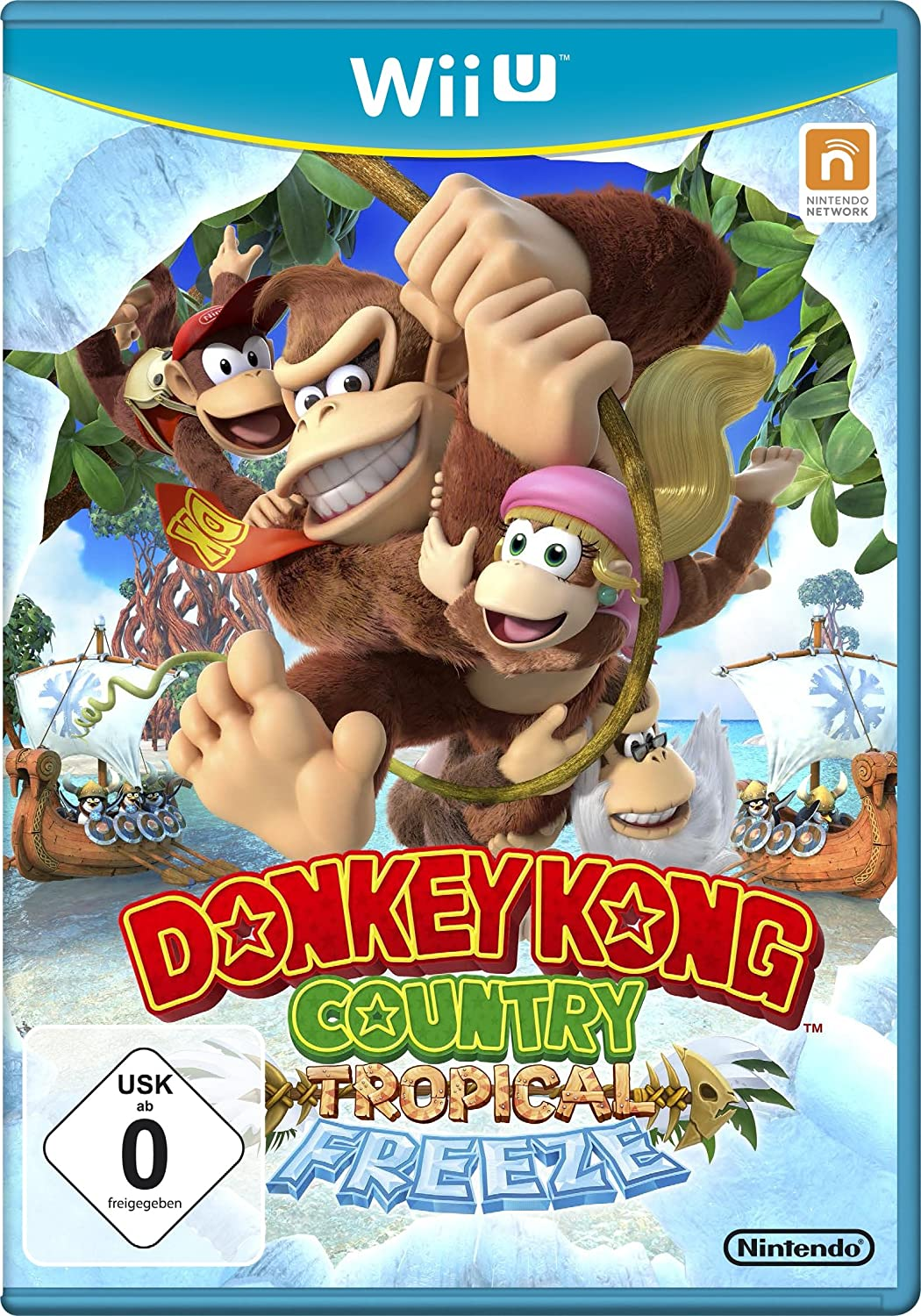 Donkey Kong Country: Tropical Freeze, Wii U