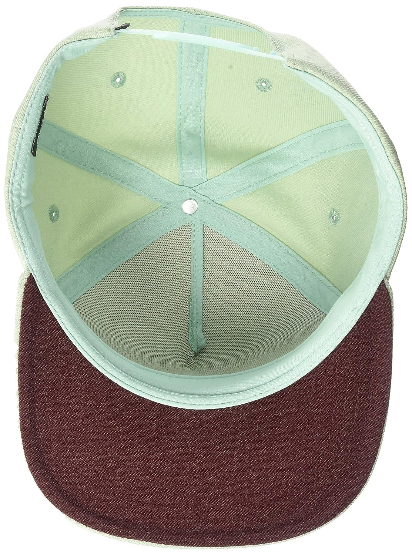 on sale f8cc4 588cf ... RVCA Mens Ensign Snapback Hat Light Grey EA MMAHWESB
