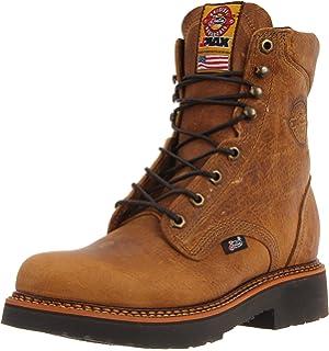 Amazon.com: Justin Original Work Boots Men's J-max Pull-On Work ...