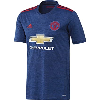 Amazon.com   Adidas Manchester United FC Official 2016 17 SS Away ... 7fc2782926b75
