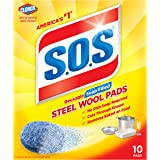 S.O.S Steel Wool Soap Pads, 10 ct