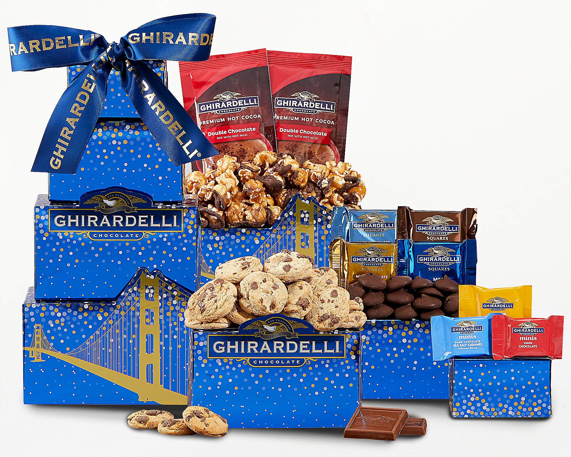Wine Country Gift Baskets Ghirardelli Tower by Wine Country Gift Baskets
