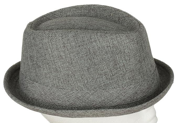 Classic Summer and Spring Plain Derbi Fedora Hat 69403c65f02a