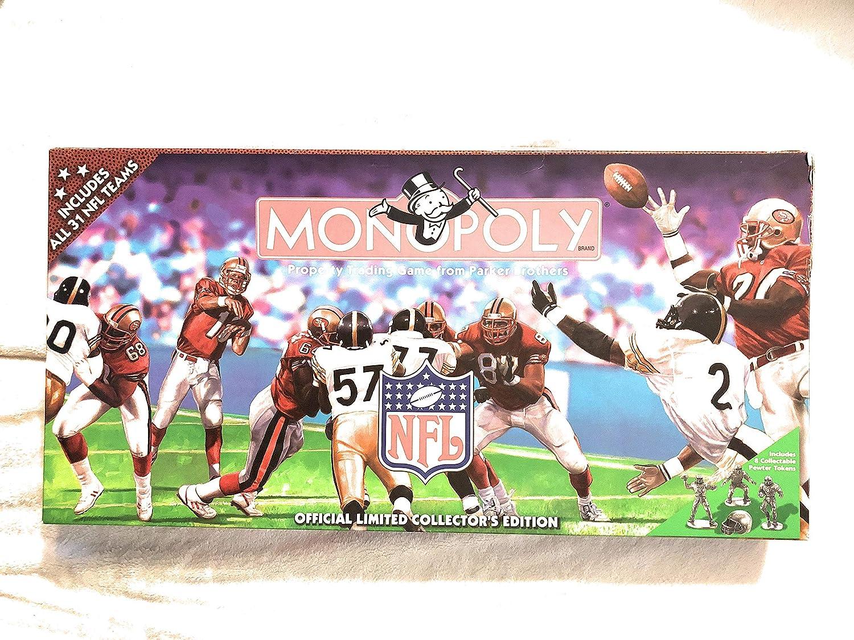 1998 NFL Edición limitada Monopoly Juego – 31 Equipos – Fútbol – Aceites Tennessee: Amazon.es: Amazon.es