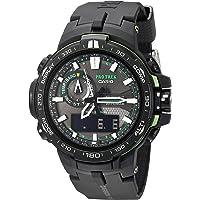 Casio Men's Pro Trek Solar Powered Black Analog-Digital Sport Watch