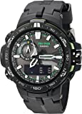Casio Men's PRW-6000Y-1ACR Pro Trek Black Analog-Digital Sport Watch