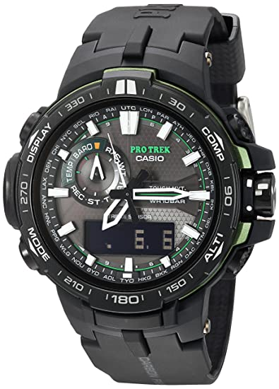 Casio PRW-6000Y-1ACR - Reloj de Pulsera Hombre, Resina, Color Negro: Casio: Amazon.es: Relojes