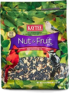 Kaytee Nut and Fruit Blend Stand Up Bag, 5-Pound
