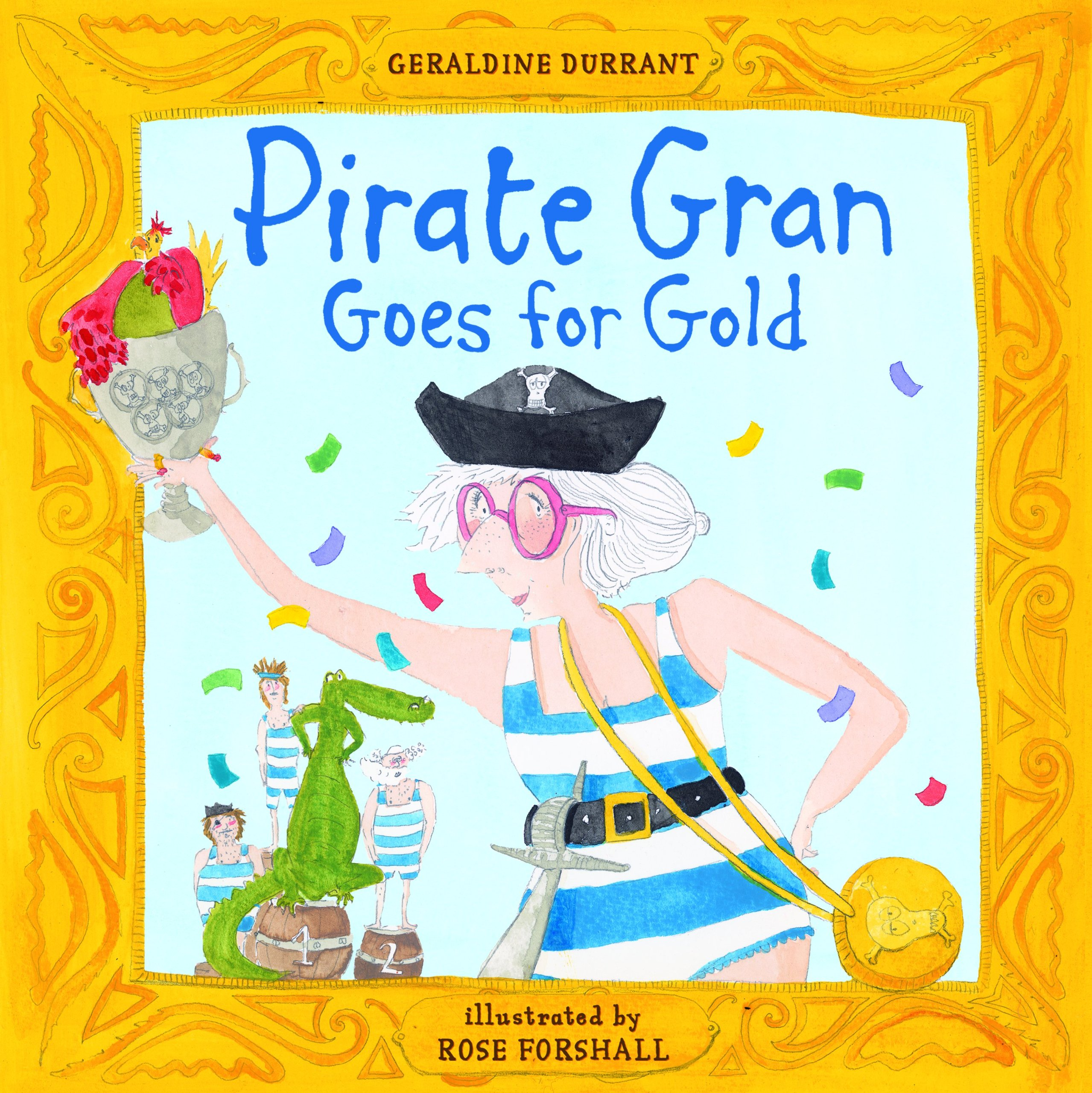 Read Online Pirate Gran Goes for Gold PDF