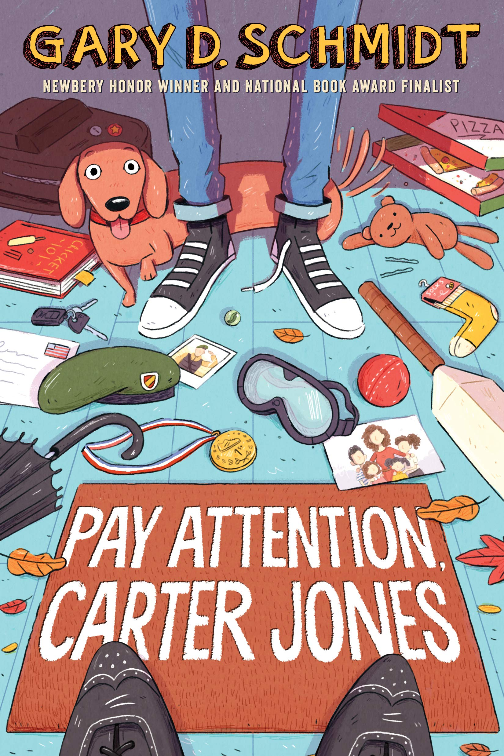 Pay Attention, Carter Jones: Schmidt, Gary D.: 9780544790858 ...