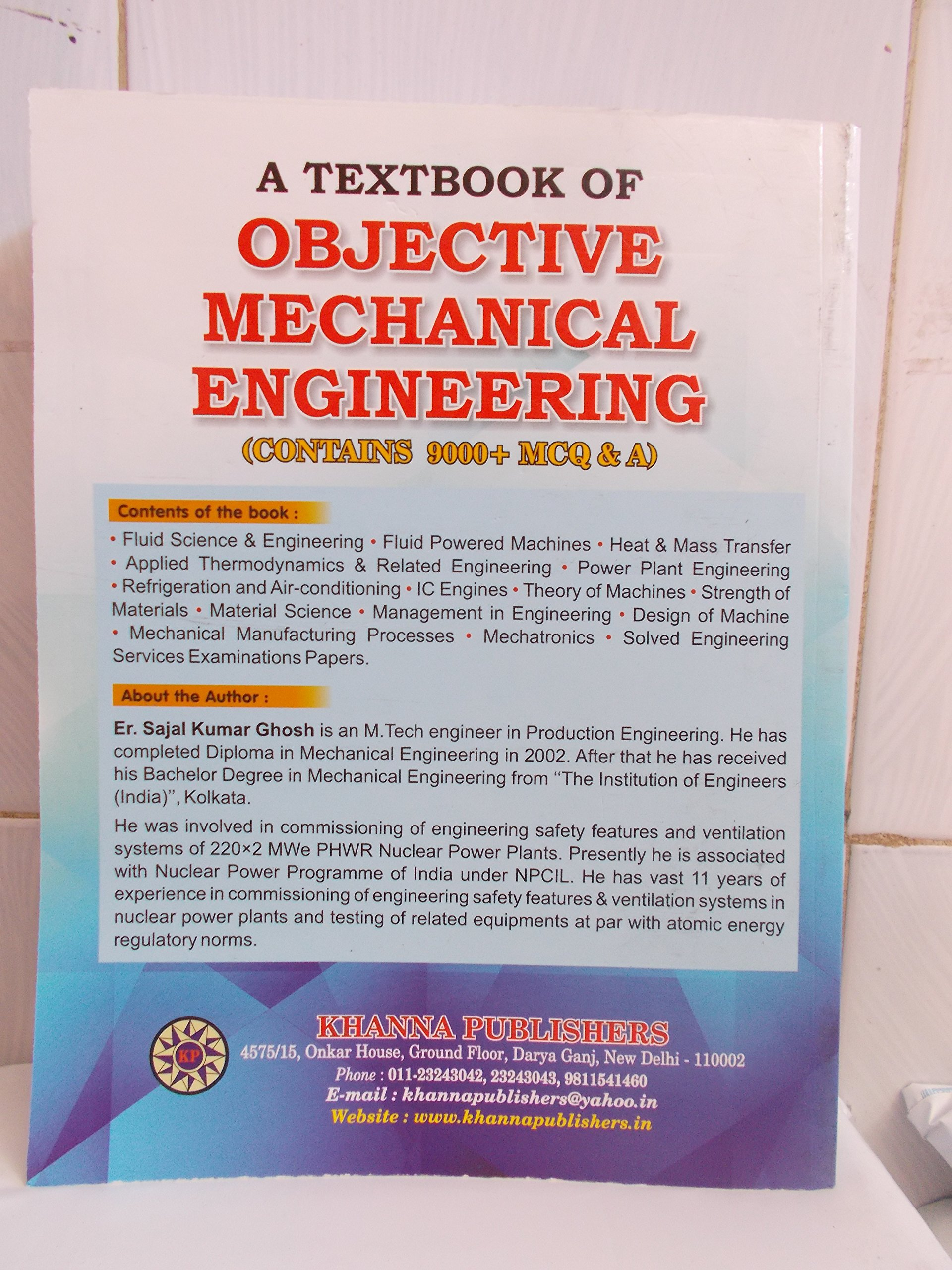 Rk Jain Mechanical Objective Ebook