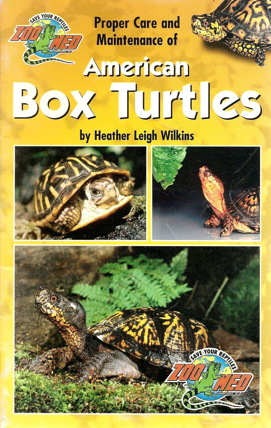 Read Online Proper Care and Maintenance of American Box Turtles pdf epub