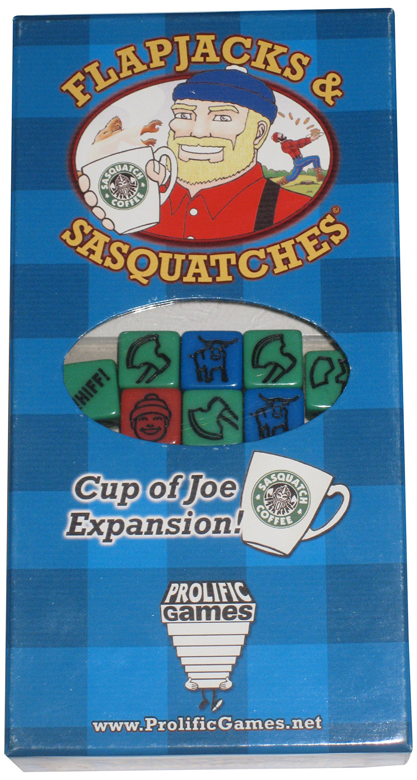 Flapjacks and Sasquatches: Cup of Joe Card Game by Prolific Games (Image #1)
