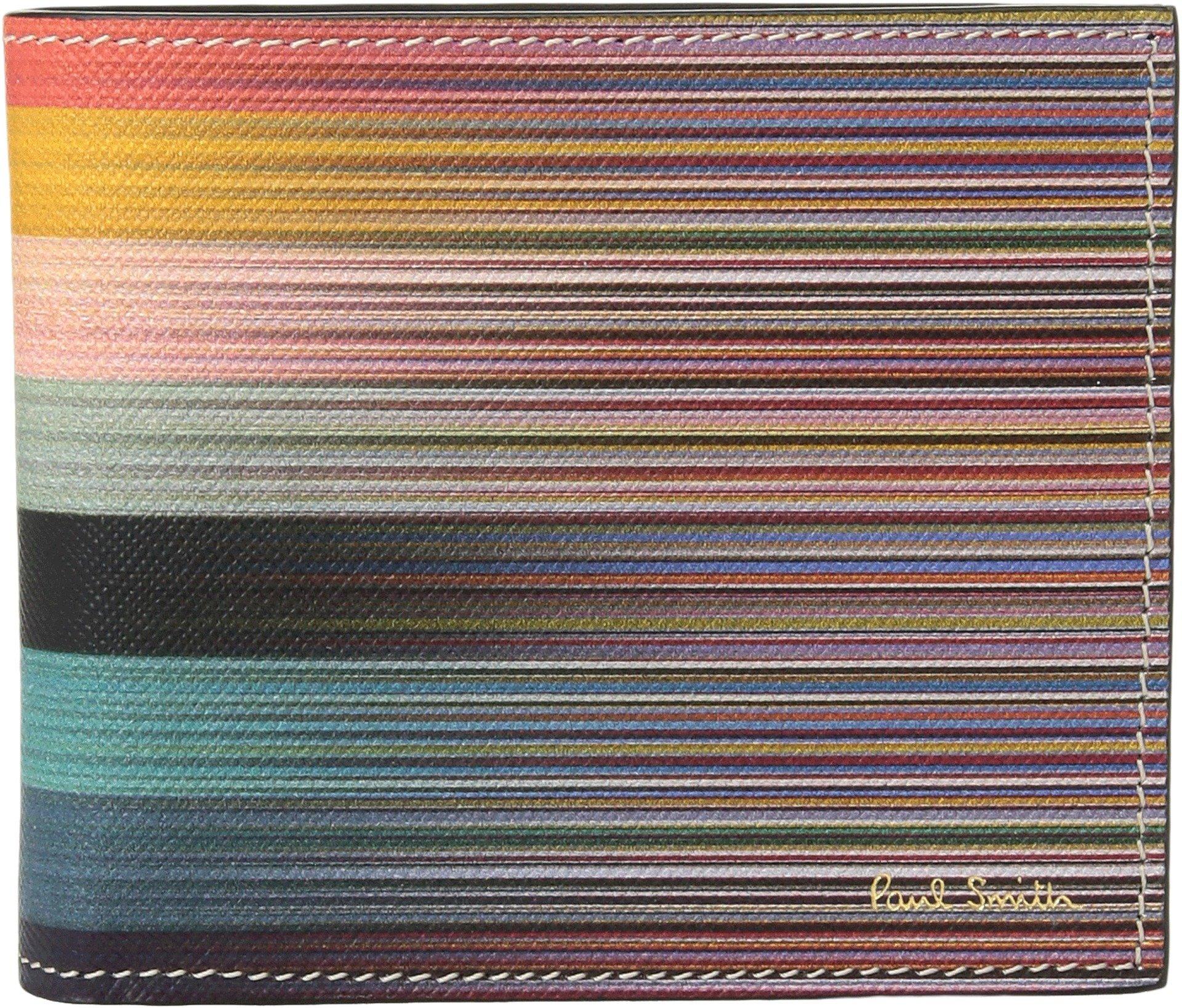 Paul Smith  Men's Artist Stripe Billfold Multi One Size