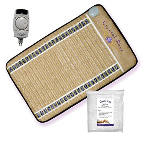 Amazon.com: Portátil dry-sauna. Amethyst Gemstone Mat emite ...