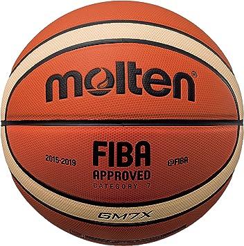 Molten X Series IndoorOutdoor Basketball, FIBA Approved BGMX