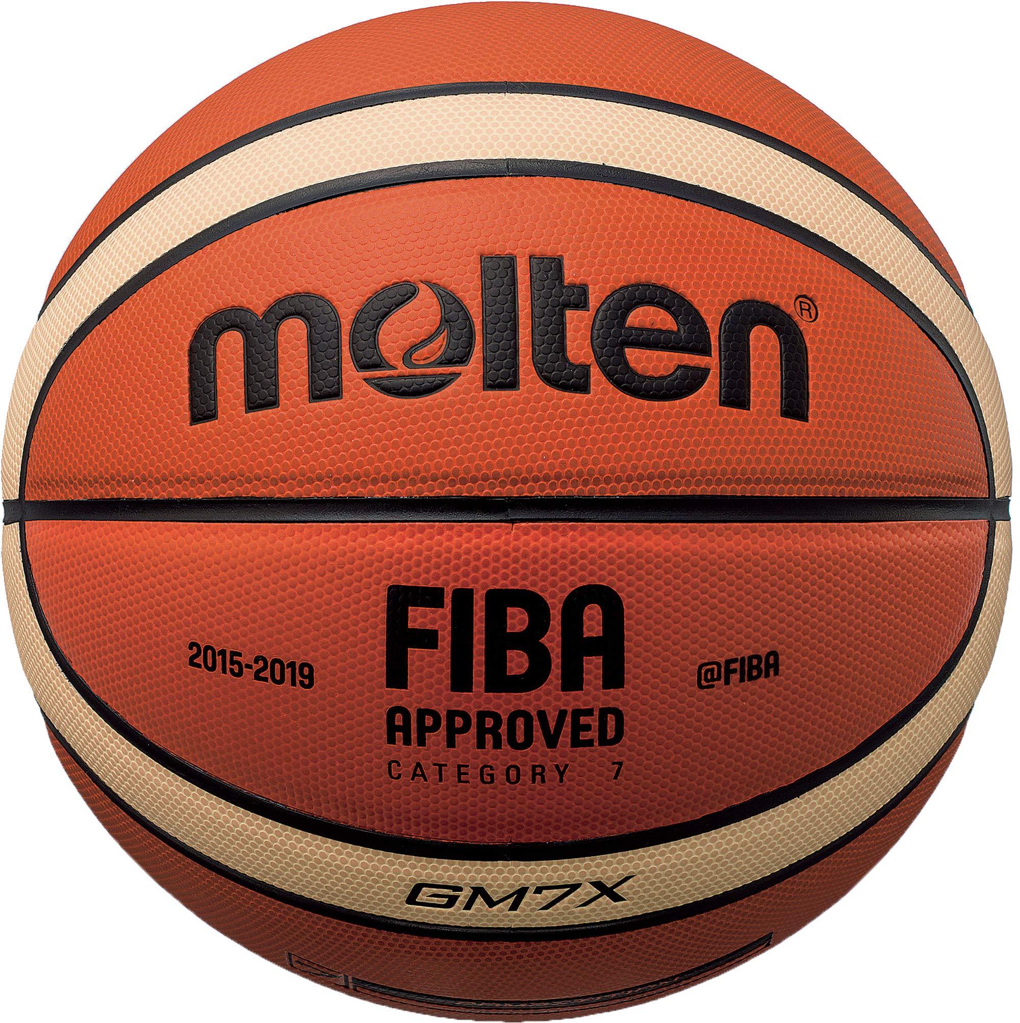 Molten GR7 Rubber Indoor Outdoor FIBA Approved Basketball Tan