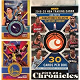 2019 - 20 Panini Chronicles NBA Basketball Factory Sealed 30 Card HANGER Box with (4) HOLO and OPTI-CHROME Cards! Look…
