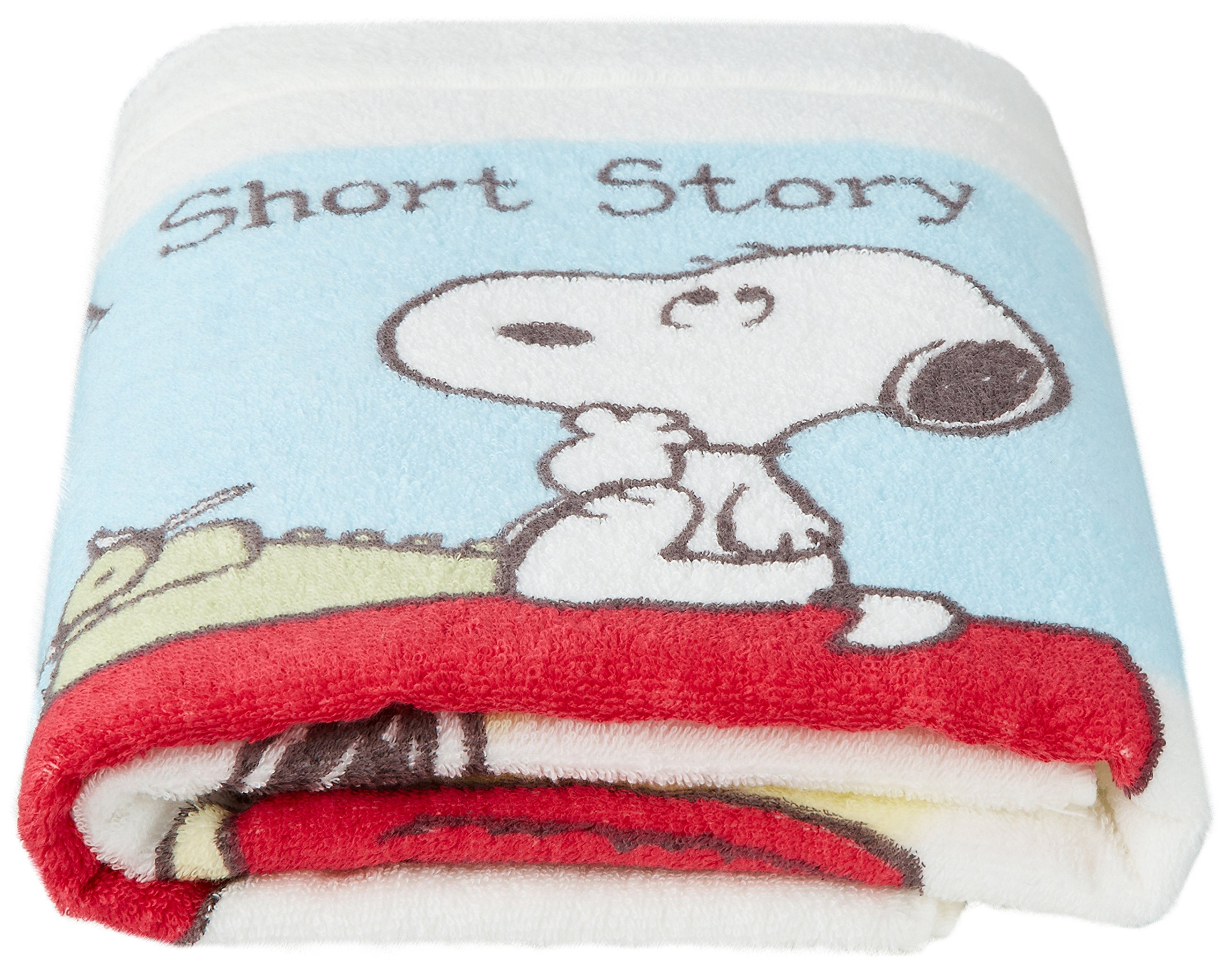 Nishikawa Living Snoopy hollow fiber used towel soft pattern White by Nishikawa living
