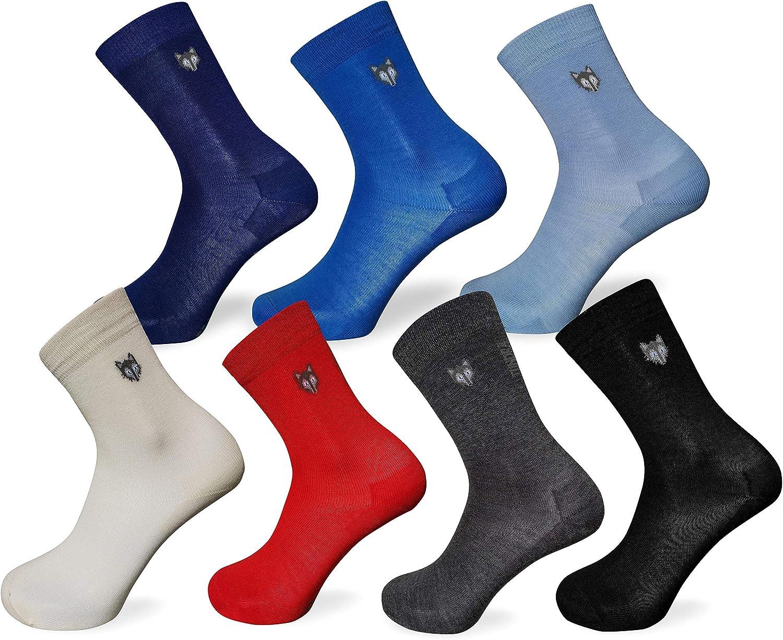 lot de 3 paires chaussettes thermiques ultra fines extr/êmement chaudes Team Magnus Tundra wolf chaussettes 80/% laine