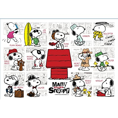 300-piece jigsaw puzzle PEANUTS MANY Faces of Snoopy (26x38cm)